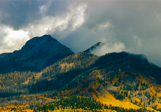 Pagosa Peak in the Fall